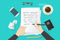 Scrierea și trimiterea spre evaluare a unui manuscris
